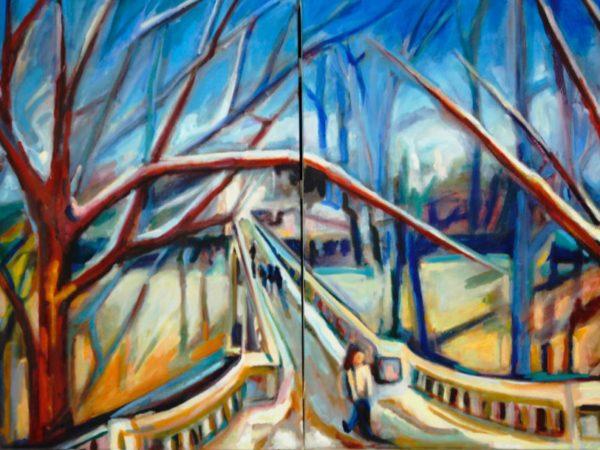 Cadaver Bridge in Winter